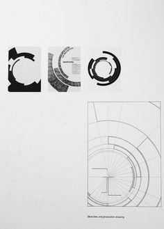 Radial circulo lineas