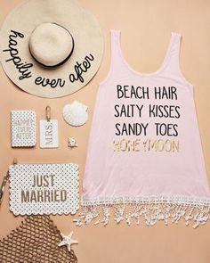 Beach Wedding Photos Crochet-Trimmed Honeymoon Beach Cover Up Honeymoon Style, Honeymoon Gifts, Honeymoon Outfits, Honeymoon Destinations, Honeymoon Clothes, Honeymoon Ideas, Honeymoon Shower, Honeymoon Packing, Bali Honeymoon