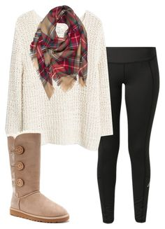 """""""Untitled #38"""" by reese-trigleth ❤ liked on Polyvore featuring adidas, MANGO, UGG Australia and plus size clothing"""