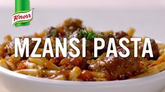 Master the Art of Local Flavour #MzansiPasta