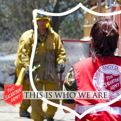 EMERGENCY DISASTER SERVICES:   The Salvation Army has been responding to major disasters in the United States since the devastating hurricane experienced by Galveston, Texas in 1900. First on the scene and the last to leave.
