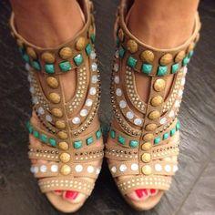 Le Silla Suede Calfskin Sandal