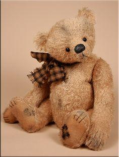 Kingsley #teddy created by Paula Carter www.allbear.co.uk
