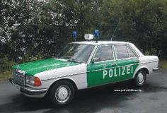 OG |1984 Mercedes-Benz E280 W123 | #Polizei