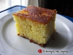 Τραγίσιο γλυκό  με πορτοκάλι Greek Sweets, Greek Desserts, Greek Recipes, Easy Desserts, Middle Eastern Desserts, Happy Foods, Coffee Cake, Food To Make, Deserts