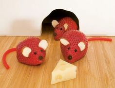 Comidas divertidas: Ratones