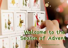 The season of Advent is a special time at our house. One of the many traditions my family looks forward to every year is getting out our Advent Calendar. It brings me so much joy to watch our children's excitement as they open each treasured door. What are some of your family's traditions to welcome in the advent season? #jeanpetersenauthor #seriouswriter #theeverydayproject #blessedisshe #flashesofdelight #documentlife
