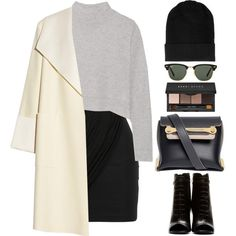 Transitional Coats Polyvore Combinations (3)
