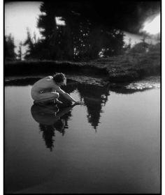 On Mount Rainier I by Imogen Cunningham - Susan Spiritus Gallery History Of Photography, Nude Photography, Vintage Photography, Black And White Photography, Amazing Photography, Ellen Von Unwerth, Vivian Maier, Annie Leibovitz, Messina