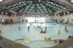 14 Incredible Indoor Pools with Slides, Lazy Rivers, Classes, and more! #swimming #fitness #seattle #kids