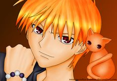 kyo sohma- fruits basket anime love him and all his funny expressions