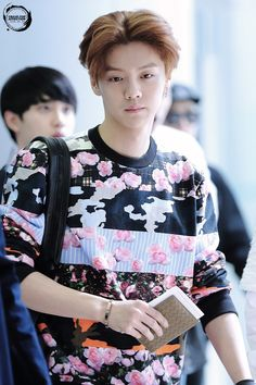 Luhan | 140405 Gimpo Airport departing for Beijing