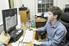 Mark Zuckerburg at Harvard. Mark Zuckerburg, Harvard Students, Facebook Website, Marketing Articles, About Facebook, Facebook Photos, Starting Your Own Business, This Or That Questions, History