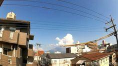 鹿児島市の風景|雑節「社日」の桜島の空に乱舞する雲をタイムラプス動画で RICOH_WG1