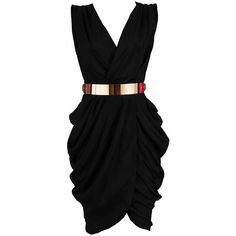The perfect little black dress! Clothing :: Dresses :: Glamour Dresses :: 'Monroe' Black Chiffon Wrap Dress - Celeb Boutique - Celebrity Style At High Street Prices Cute Dresses, Beautiful Dresses, Party Dresses, Wrap Dresses, Dress Party, Short Dresses, Chiffon Dresses, Dresses Dresses, Looks Chic