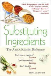 Why not get this  Substituting Ingredients - http://www.buypdfbooks.com/shop/uncategorized/substituting-ingredients-2/