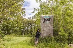 The standing stone of Ardara, a massive block some 3.5 metres high. @GoToIrelandUS @irarchaeology @WAWDonegal