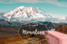 Mountain Lr Presets by FaeryDesign on Business Brochure, Business Card Logo, Professional Lightroom Presets, Creative Sketches, Paint Markers, Pencil Illustration, Watercolor And Ink, Your Image, Free Design