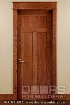 Custom Wood Interior Doors. Craftsman Style Custom Interior Wood Doors & craftsman exterior door trim | painted Craftsman style casing with ... pezcame.com