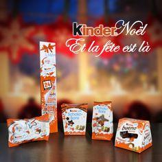 gamme kinder noel 2014 - kinder chocolat - kinder bueno - kinder schoko-bons https://www.facebook.com/kinder.france