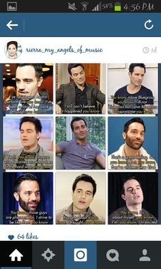 """""""You know""""... Oh Ramin. :) I was watching a quick interview with him for the first time and the two things that killed me were the accent and the adorable little breaks and """"you know""""s"""