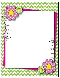 Art - Clip Art, Stationary, Frames & Borders Frame Border Design, Boarder Designs, Art Clip, Printable Border, Boarders And Frames, Diy And Crafts, Paper Crafts, School Frame, Page Borders
