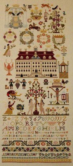 Merseburg 1763 Sampler