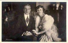 Prinz Franz Josef von Thurn und Taxis und Prinzessin Elisabeth von Braganza