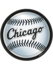 Chicago White Sox Lunch Plates 18ct - MLB Teams - Sports Theme Party - Theme Parties - Categories - Party City