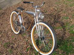 Mmild custom early '60s Schwinn Jaguar. Current Huffy Cranbrook looks a lot like this.