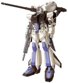 The MVF-M12A Ootsukigata is a mass-production transformable artillery support mobile suit, and is a variant of the MVF-M11C Murasame. It is featured in the original design series SEED DESTINY-MSV and is piloted by Takito Haya Oshidari.