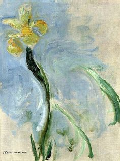 Learn more about Iris jaune Claude Oscar Monet - oil artwork, painted by one of the most celebrated masters in the history of art. Monet Paintings, Impressionist Paintings, Landscape Paintings, Claude Monet, Artist Monet, Art Japonais, Pierre Auguste Renoir, Manet, Oil Painting Reproductions