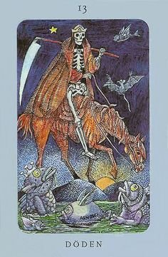 Death - Jolanda Tarot (Swedish Witch Tarot)