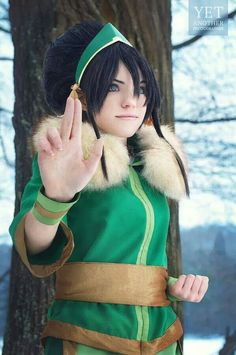 Toph for Halloween