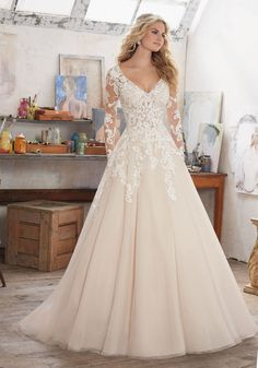 Morilee Wedding Dresses 2017 by Madeline Gardner / http://www.himisspuff.com/morilee-wedding-dresses-2017-by-madeline-gardner/5/