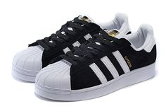 adidas Originals women's Superstar Foundation Fashion Sneaker Black/white2