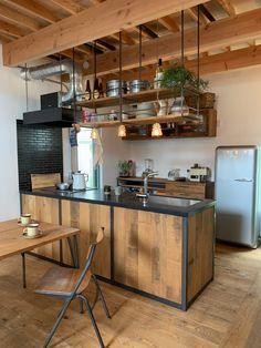 Kitchen Room Design, Kitchen Sets, Kitchen Interior, Home Interior Design, Interior Decorating, Butcher Block Countertops Kitchen, Küchen Design, House Design, Tyni House