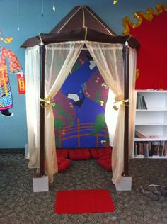 Chinese Garden Display, Classroom Display, class display, Chinese, Garden, Chinese New Year, Culture, Early Years (EYFS), KS1 & KS2 Primary Resources