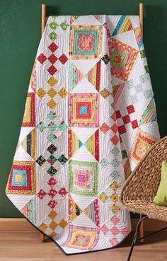 Nine Patch Stretch Quilt Pattern Download