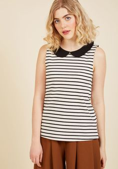 Everyday Fave Tank Top in Ivory | ModCloth