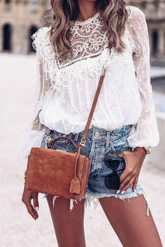 Brilliant Casual Style Looks Mode Outfits, Casual Outfits, Summer Outfits, Fashion Outfits, Fashion Weeks, Passion For Fashion, Love Fashion, Womens Fashion, Paris Fashion