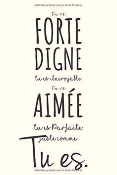 Message Positif, Jolie Phrase, Journal 3, Messages, Encouragement, Motivation, Amazon Fr, Crayon, Comme