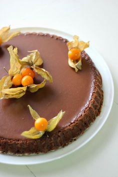 Chiarapassion: Torta al cioccolato Lindt