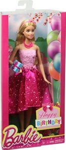 Check out this Birthday Barbie 5 star over 45 customer reviews. This is a best seller so shop while supplies last.