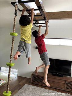 住宅 雲梯 屋内 家庭用 室内 水泳 トレーニング うんてい ウンテイ オーダー 特注 かわいい かっこいい 新築 雲梯ブーム 既製品 筋トレ 筋肉