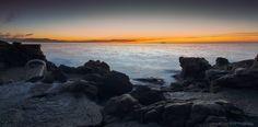 https://flic.kr/p/yuDgkQ | Sunrise over Sea, city of Antibes Juan Les Pins, French Riviera by Domi RCHX Photography | Lever du soleil sur la mer, ville d'Antibes Juan Les Pins, Côte d'Azur, FRANCE par Domi RCHX Photography