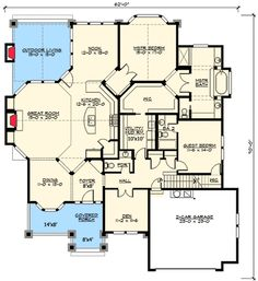Rambler House Plans find this pin and more on idee de plan Plan 23320jd Modern Rambler With Upstairs Bonus Room Home Design House Plans And Home