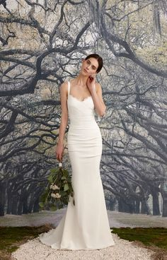 Tonya Bridal Gown Nicole Miller Wedding Afflink
