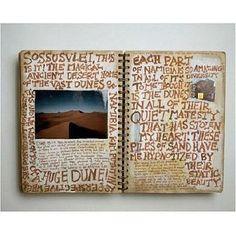 Art journals....