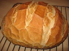 Our daily bread Hungarian Cuisine, Hungarian Recipes, Healthy Homemade Bread, Our Daily Bread, Best Food Ever, Bread And Pastries, Baking And Pastry, Challah, How To Make Bread
